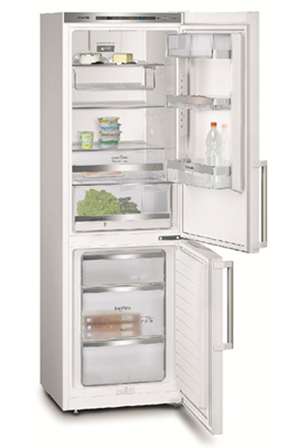 refrigerateur congelateur en bas siemens kg36eaw40 blanc 3470067 darty. Black Bedroom Furniture Sets. Home Design Ideas