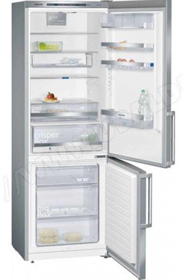 refrigerateur congelateur en bas siemens kg 49 ebi 40 inox 4017552 darty. Black Bedroom Furniture Sets. Home Design Ideas