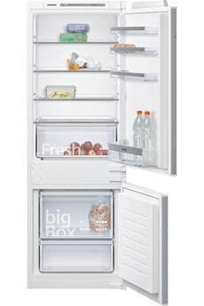 Refrigerateur congelateur en bas Siemens KI77VVSF0 158CM