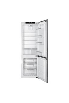 Refrigerateur congelateur en bas Smeg C8174DN2E 178 cm