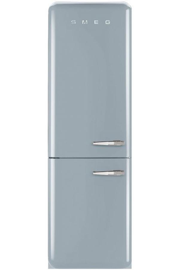refrigerateur congelateur en bas smeg fab32lxn1 darty. Black Bedroom Furniture Sets. Home Design Ideas