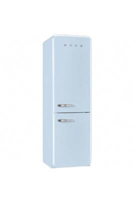 Volume 304 L - Dimensions HxLxP : 192.6x60x72 cm - A++ Réfrigérateur à froid brassé 229 L Congélateur à froid ventilé 75 L Design rétro années 50 - Charnières à droite