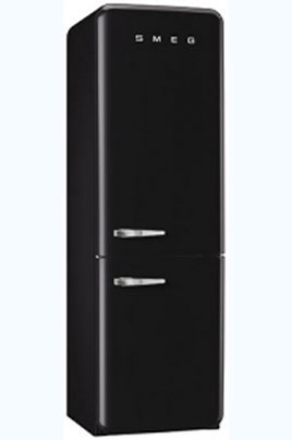 refrigerateur congelateur en bas smeg fab32rne1 3757510. Black Bedroom Furniture Sets. Home Design Ideas