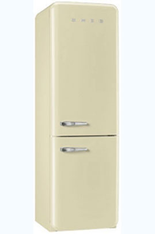 refrigerateur congelateur en bas smeg fab32rp1 (3757498) | darty