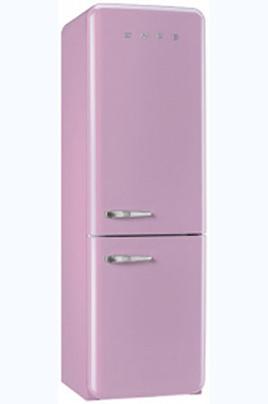 Volume 321 L - Dimensions HxLxP : 192,6x60x72 cm - A++ Réfrigérateur à froid brassé 229 L Congélateur à froid statique 92 L Design rétro années 50 - Charnières à droite