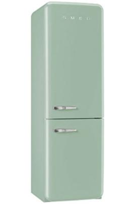 Volume 304 L - Dimensions HxLxP : 192,6x60x72 cm - A++ Réfrigérateur à froid brassé 229 L Congélateur à froid ventilé 75 L Design rétro années 50 - Charnières à droite