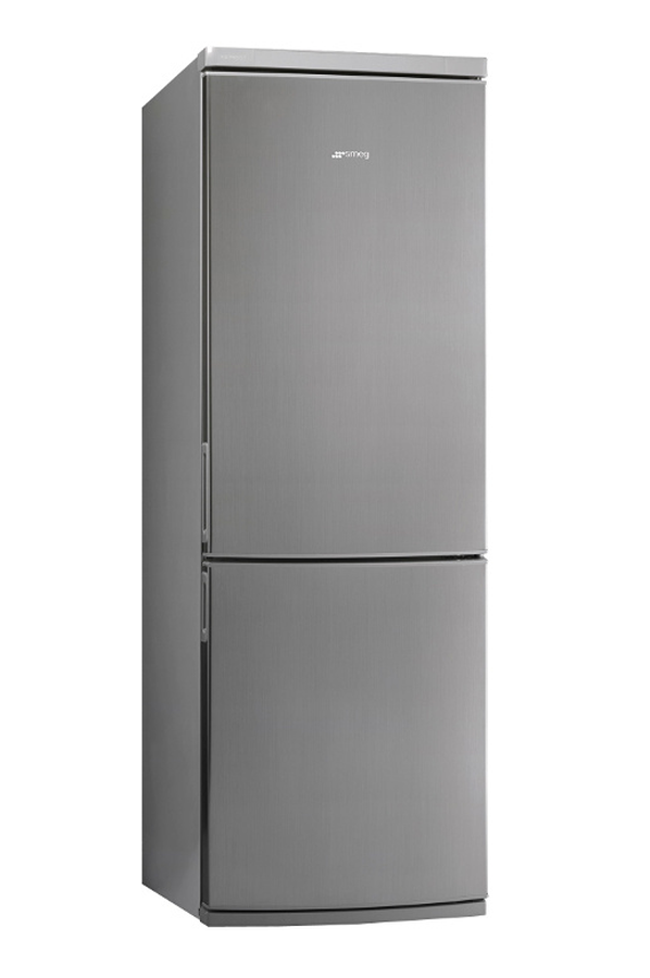 refrigerateur congelateur en bas smeg fc340xpnf 4045394 darty. Black Bedroom Furniture Sets. Home Design Ideas