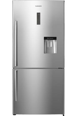 Volume 458 L - Dimensions HxLxP: 175.5x79x73.5 cm - A+ Réfrigérateur à froid ventilé 338 L Congélateur à froid ventilé (sans givre) 120 L Distributeur d'eau fraîche - Bac eau amovible 2.5 L