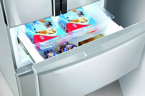 refrigerateur congelateur en bas thomson thm70ix inox 3857743. Black Bedroom Furniture Sets. Home Design Ideas