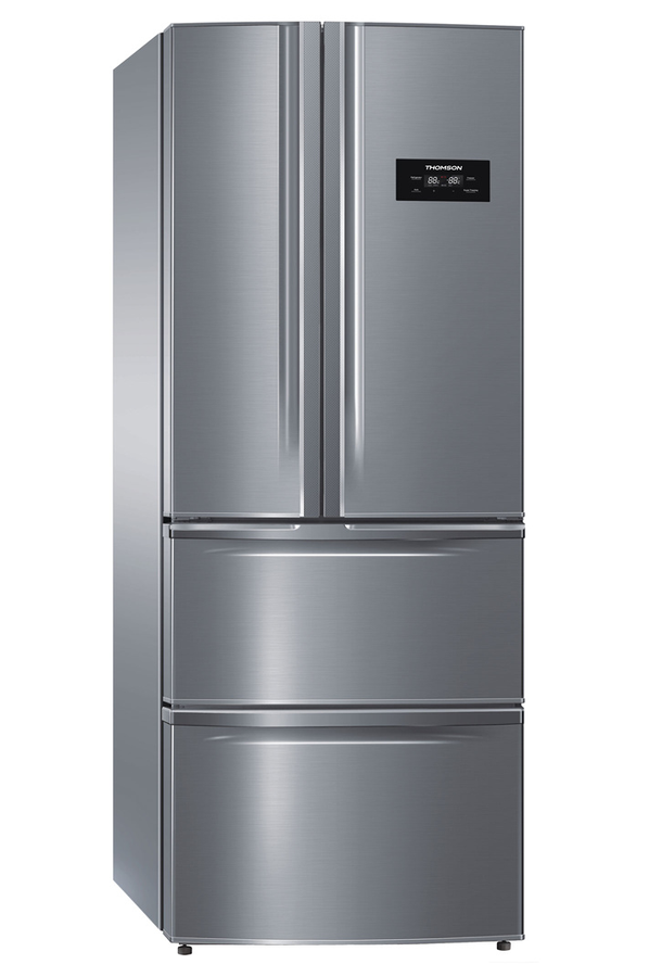 refrigerateur congelateur en bas thomson thm70ix inox. Black Bedroom Furniture Sets. Home Design Ideas