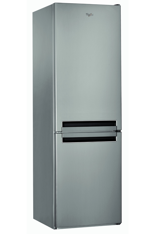 refrigerateur congelateur en bas whirlpool bsnf8131ox inox. Black Bedroom Furniture Sets. Home Design Ideas