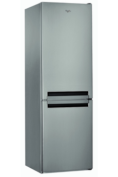 Refrigerateur congelateur en bas BSNF8131OX INOX Whirlpool