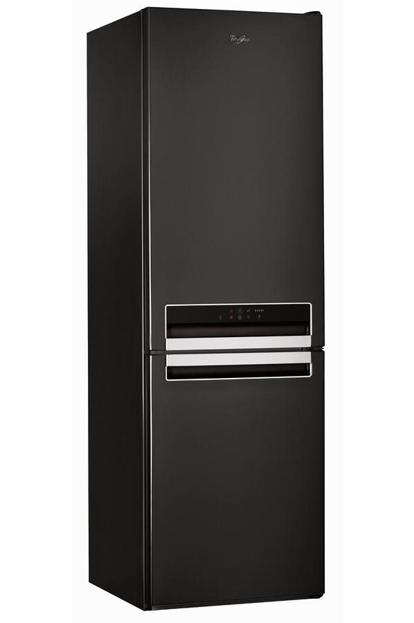refrigerateur congelateur en bas whirlpool bsnf8422k. Black Bedroom Furniture Sets. Home Design Ideas