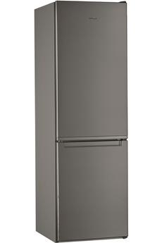 Refrigerateur congelateur en bas Whirlpool W7811IOX