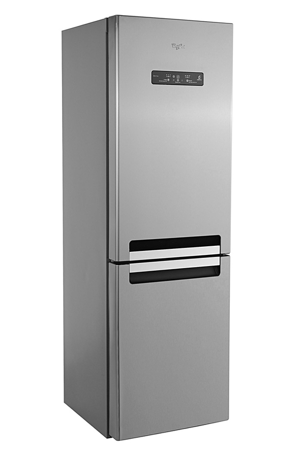 refrigerateur congelateur en bas whirlpool wba34983dfcix inox 3734390 darty. Black Bedroom Furniture Sets. Home Design Ideas