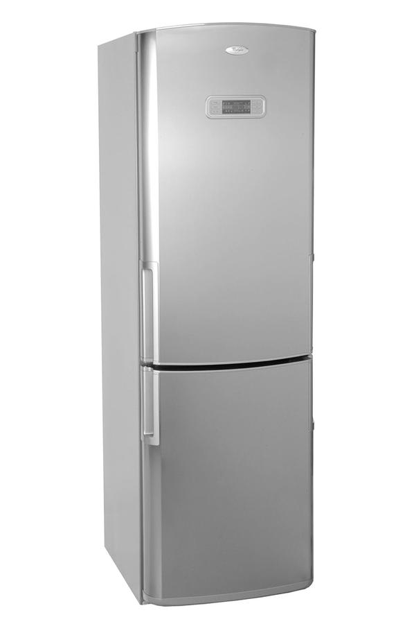 refrigerateur congelateur en bas whirlpool wbc3547a nfx 3146928 darty. Black Bedroom Furniture Sets. Home Design Ideas