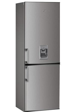 refrigerateur congelateur en bas whirlpool wbe3325nfix aqua inox darty. Black Bedroom Furniture Sets. Home Design Ideas