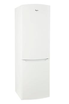 Refrigerateur congelateur en bas WBE3412FW Whirlpool