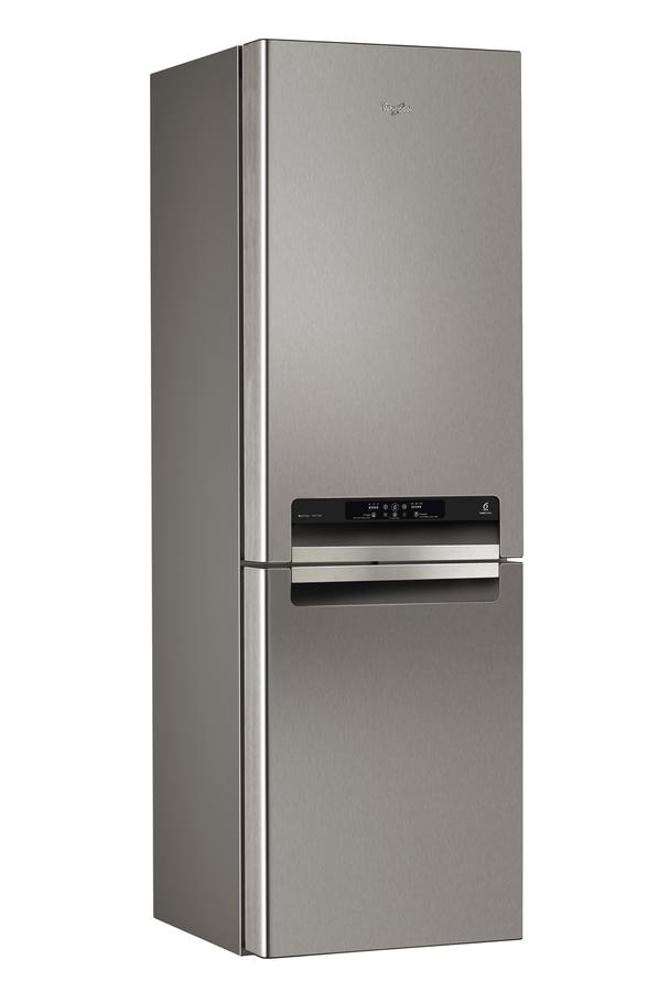 refrigerateur congelateur en bas whirlpool wbv36992nfcix 3604349 darty. Black Bedroom Furniture Sets. Home Design Ideas