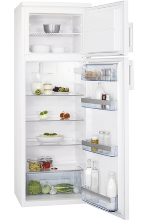 refrigerateur congelateur en haut aeg s52710ddw0 darty. Black Bedroom Furniture Sets. Home Design Ideas