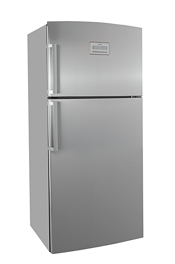 refrigerateur congelateur en haut aeg s75300dnxo inox 3541258 darty. Black Bedroom Furniture Sets. Home Design Ideas