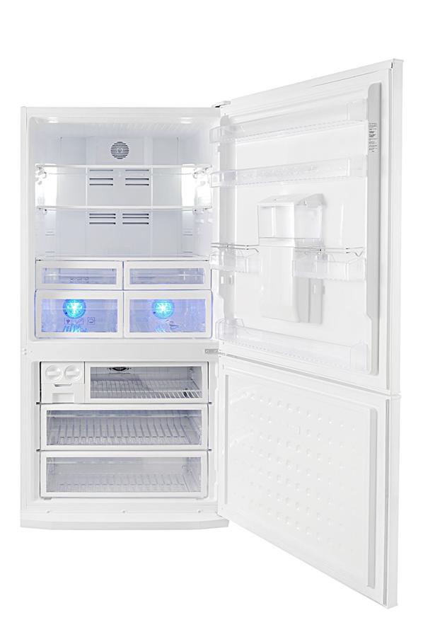 refrigerateur congelateur en bas beko cne60520d 3598756. Black Bedroom Furniture Sets. Home Design Ideas
