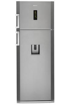 Refrigerateur congelateur en haut DN150220DS SILVER Beko