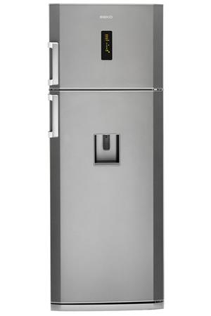refrigerateur congelateur en haut beko dn150220ds silver darty. Black Bedroom Furniture Sets. Home Design Ideas