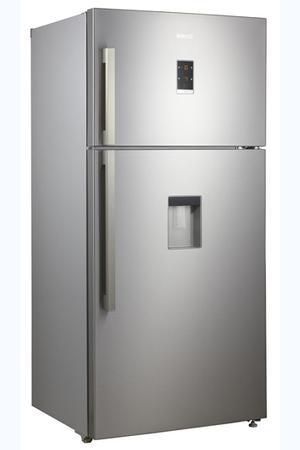 refrigerateur congelateur en haut beko dn161220dx darty. Black Bedroom Furniture Sets. Home Design Ideas