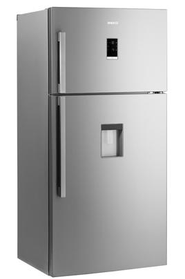 Volume 539 L - Dimensions HxLxP : 182,5x84x75 cm - A++ Réfrigérateur à froid ventilé 388 L Congélateur à froid ventilé (sans givre) 144 L Sorbetière intégrée - Bac à légumes EverFresh