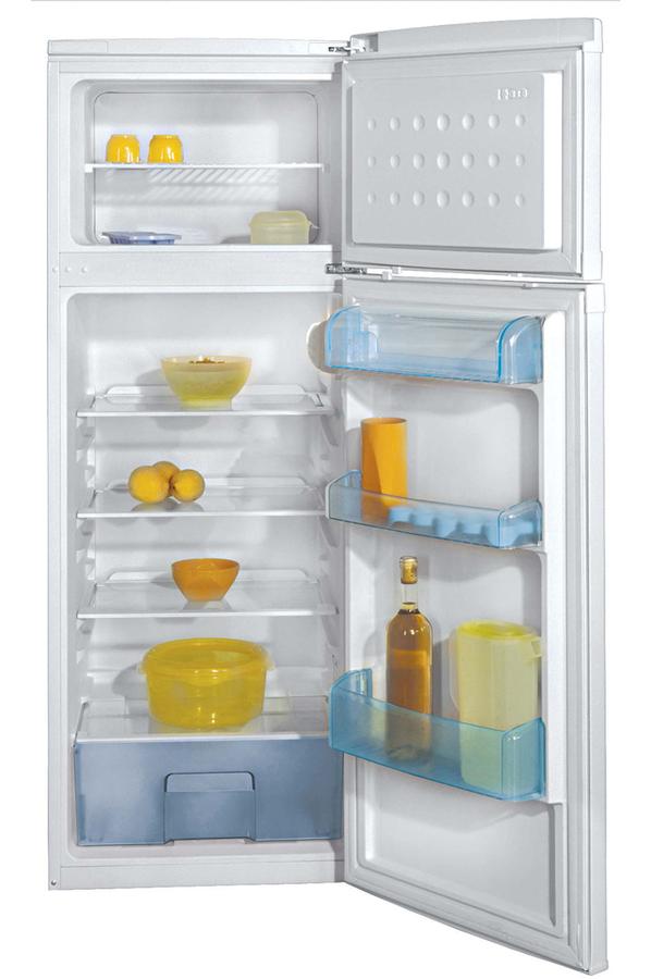 refrigerateur congelateur en haut beko dsa25020 4086104. Black Bedroom Furniture Sets. Home Design Ideas