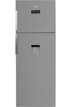 Refrigerateur congelateur en haut RDNE455E31DZS Beko