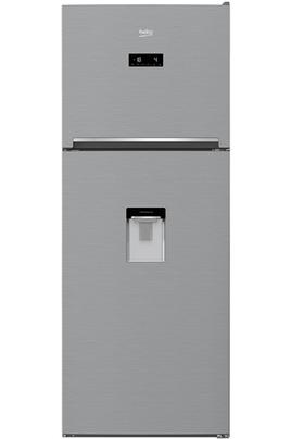 Volume 419 L - Dimensions HxLxP : 182 x 70 x 66 cm - A+ Réfrigérateur à froid ventilé 313 L Congélateur à froid ventilé 106 L EverFresh - Distributeur d'eau