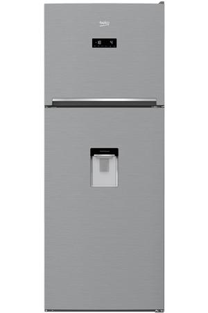 refrigerateur congelateur en haut beko rdnt470e20dzbs darty. Black Bedroom Furniture Sets. Home Design Ideas