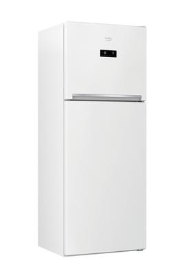 Refrigerateur congelateur en haut Beko RDNT470E20ZW