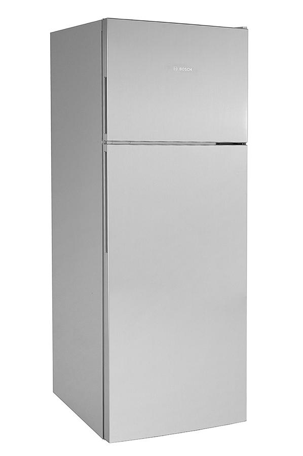 refrigerateur congelateur en haut bosch kdv58vl30 inox darty. Black Bedroom Furniture Sets. Home Design Ideas