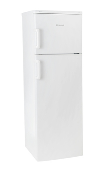 Refrigerateur congelateur en haut BFD1252BW Brandt