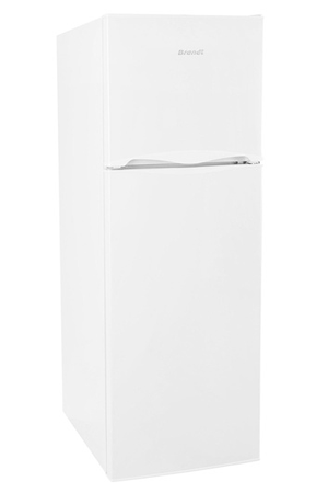 refrigerateur congelateur en haut brandt dn32600 blanc darty. Black Bedroom Furniture Sets. Home Design Ideas