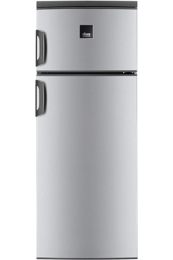 refrigerateur congelateur en haut faure frt27102xa. Black Bedroom Furniture Sets. Home Design Ideas