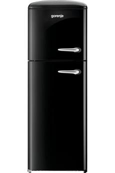 Refrigerateur congelateur en haut RF60309 OBK L Gorenje
