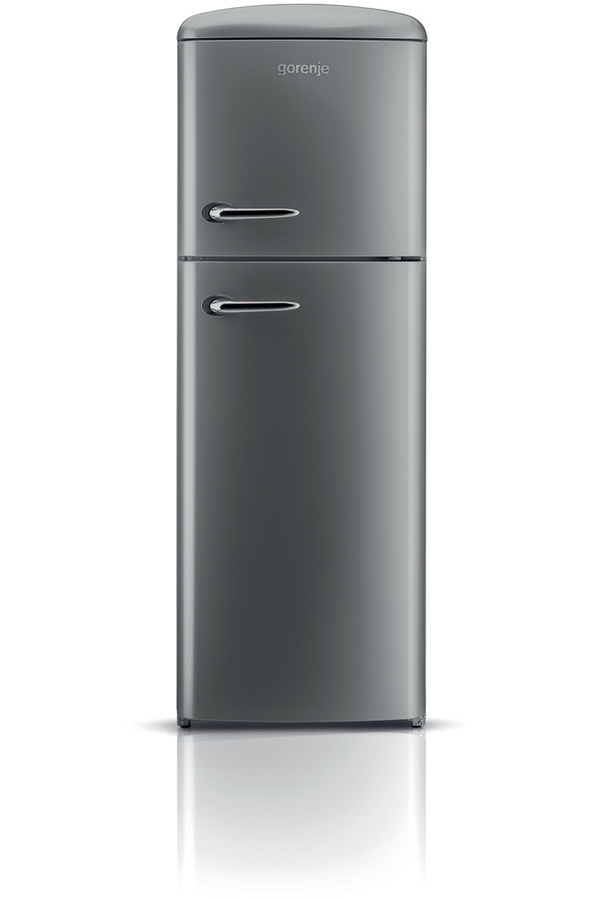 refrigerateur congelateur en haut gorenje rf 60309 ox. Black Bedroom Furniture Sets. Home Design Ideas