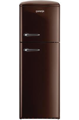 Volume 294 L - Dimensions HxLxP : 173,4x60x64 cm - A++ Réfrigérateur à froid brassé 229 L Congélateur à froid statique 65 L Réfrigérateur-congélateur vintage - Charnières à droite