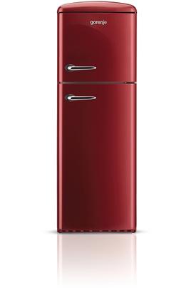Volume 294 L - Dimensions HxLxP : 173,4 x 60 x 64 cm - A++ Réfrigérateur à froid brassé 229 L Congélateur à froid statique 65 L Réfrigérateur-congélateur vintage - Charnières à droite