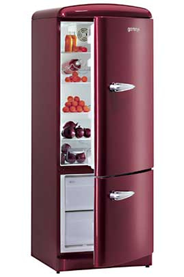 refrigerateur congelateur en haut gorenje rk 6285 or rk6285or 2012170 darty. Black Bedroom Furniture Sets. Home Design Ideas