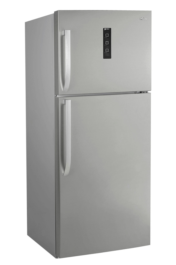 refrigerateur congelateur en haut haier d1fe671cf inox 3792080 darty. Black Bedroom Furniture Sets. Home Design Ideas