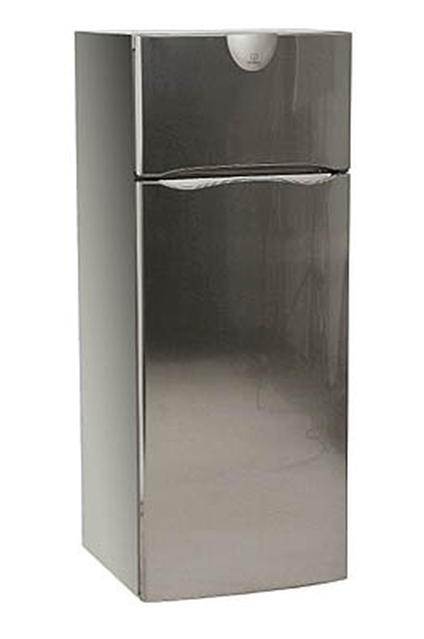 refrigerateur congelateur en haut indesit ra 27 ix inox 1683047 darty. Black Bedroom Furniture Sets. Home Design Ideas