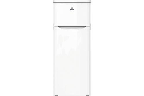 Volume 212 L - Dimensions HxLxP : 143x55x58 cm - A+ Réfrigérateur à froid statique 171 L Congélateur à froid statique 41 L Faible encombrement