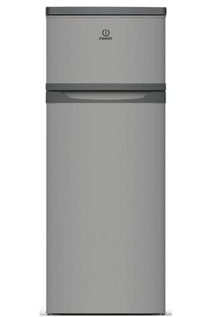 refrigerateur congelateur en haut indesit raa29 s silver. Black Bedroom Furniture Sets. Home Design Ideas