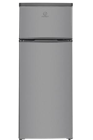 refrigerateur congelateur en haut indesit raa 28 s silver darty. Black Bedroom Furniture Sets. Home Design Ideas