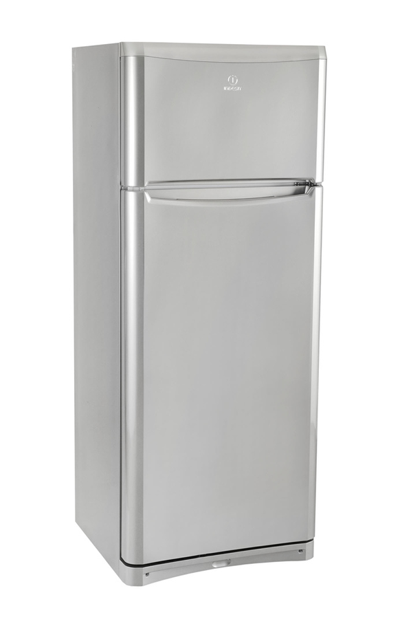 refrigerateur congelateur en haut indesit taan5vnx inox 3598284 darty. Black Bedroom Furniture Sets. Home Design Ideas